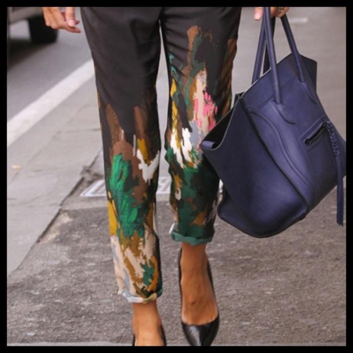 Malede bukser